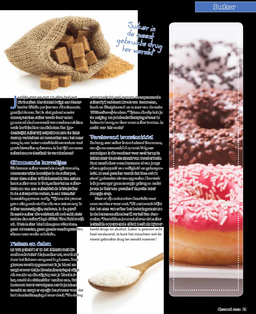 Interview suikers Gezond Eten magazine pag-2