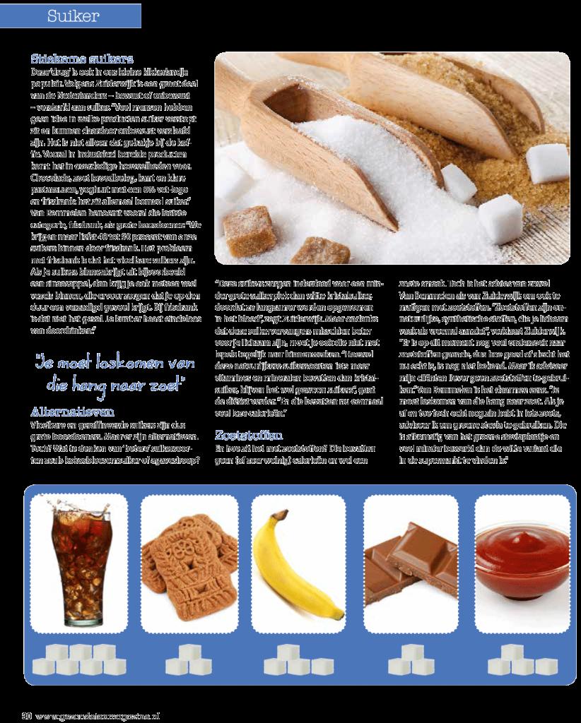Interview suikers Gezond Eten magazine pag-3